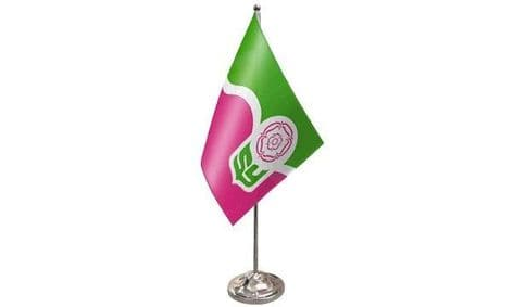 South Yorkshire Satin Table Flag | Buy South Yorkshire Satin Table Flag | NWFlags