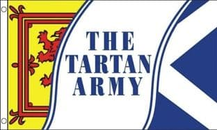 Tartan Army 5ft x 3ft Flag