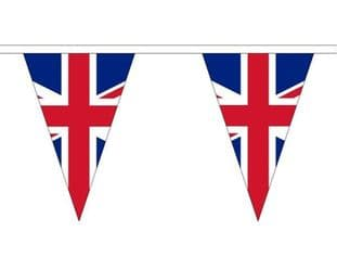 Union Jack Triangle Bunting (20m) - 54 Flags