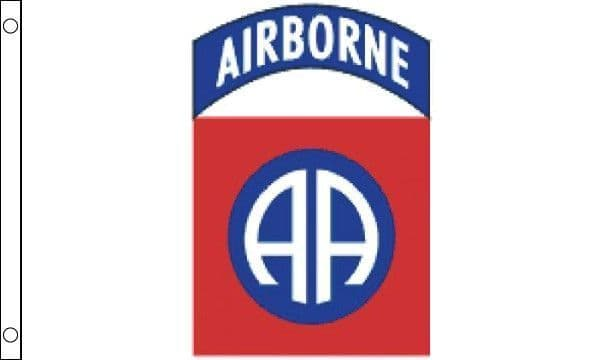 USA Airbourne 82nd 5ft x 3ft Flag