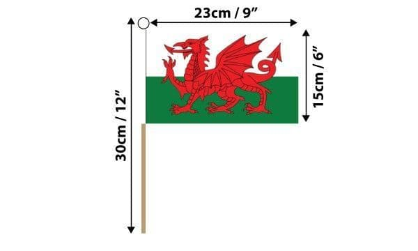 Wales Hand Flag