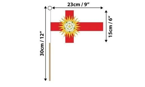 West Riding of Yorkshire Hand Flag | Buy West Riding of Yorkshire Hand Flag | NWFlags