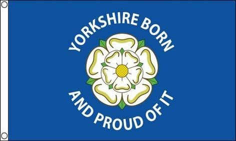 Yorkshire Born And Proud of It Flag | Buy Yorkshire Born And Proud of It Flag | NWFlags