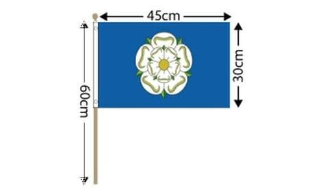 Yorkshire Pack of Large Hand Flags | Buy Yorkshire Pack of Large Hand Flags | NWFlags