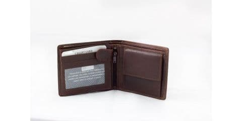 Florentino 7039 brown leather wallet