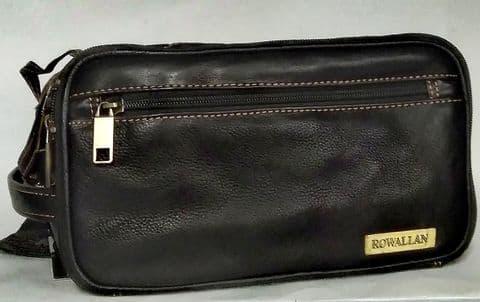 Stylish Leather Wash Bag
