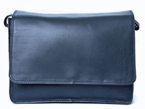 The Flapover Cross Body Handbag