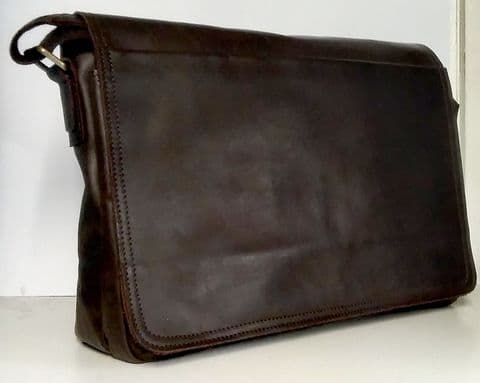 The  Full Flap Messenger Leather