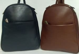 The Nova Leather Small Backpack