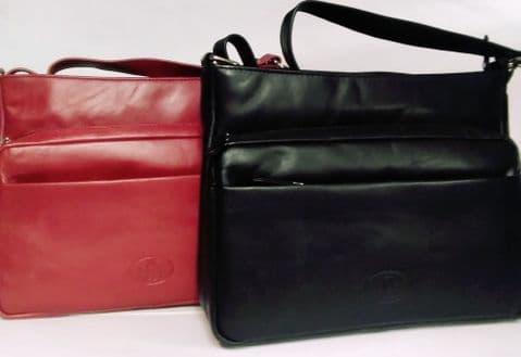 The Top Zip Shoulder Handbag
