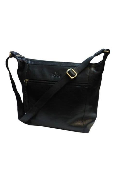 The Zip Top Shoulder Bag