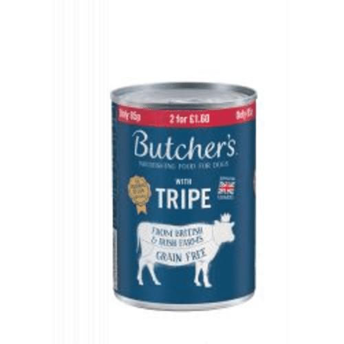 Butchers Tripe Mix 400g
