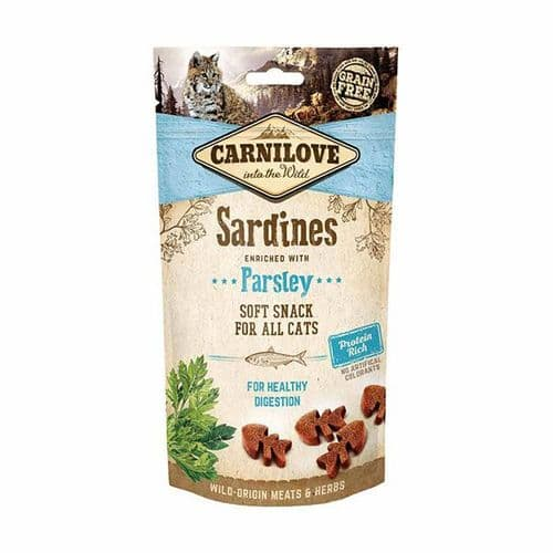 Carnilove Sardine with Parsley Cat Treats