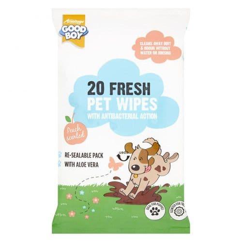 Good Boy Fresh Pet Wipes