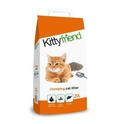 Kitty friend Clumping Cat Litter 20L