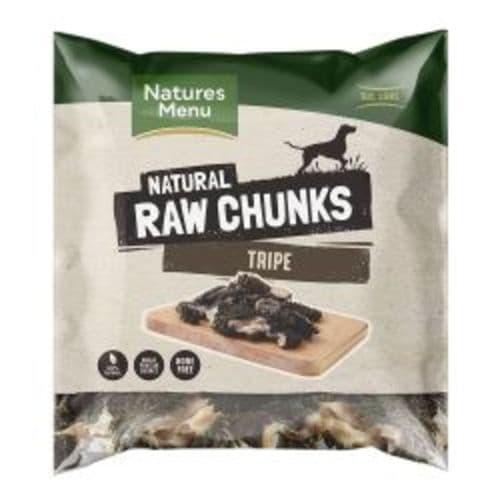 Natures Menu Natural Tripe Raw Chunks