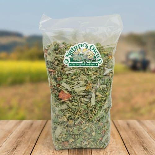 Natures Own Sweet Green… Herb Mix with Carrots and Peas
