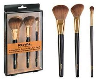 Makeup Brushes Cosmetic Connections Flawless Face Brush Set Of 3 For Women's