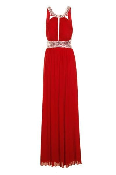 Nazz Collection Maxi  Grecian Gown