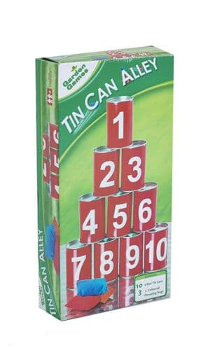 Tin Can Alley Game | Challenge Game | The Fun Experts