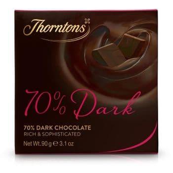 70% Deliciously Dark Chocolate Block (90g)