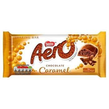 Aero Chocolate Caramel Sharing Bar 90G
