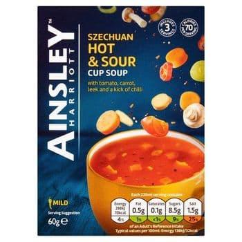 Ainsley Harriott Hot & Sour Soup 3 Pack 60G