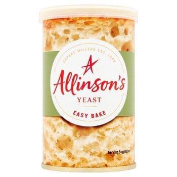 Allinson Easy Bake Yeast Tin 100G
