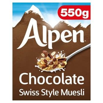 Alpen Chocolate Swiss Style Muesli 550G