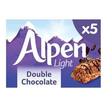 Alpen Light Bars Double Chocolate 5 Pack 105G