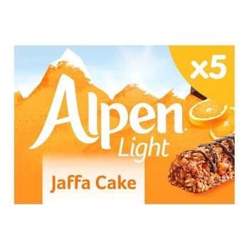Alpen Light Jaffa Cake 5 Pack 95G