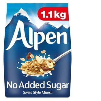 Alpen No Added Sugar 1.10Kg