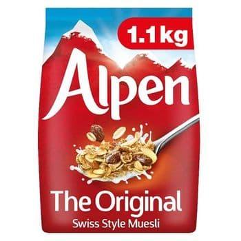 Alpen Original Swiss Style Muesli 1.1Kg