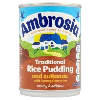 Ambrosia Creamed Rice Sultanas & Nutmeg 400G