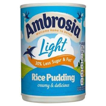 Ambrosia Low Fat Rice Pudding 400G Tin