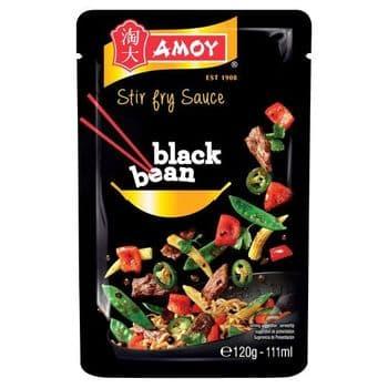 Amoy Stir Fry Black Bean Sauce 120G