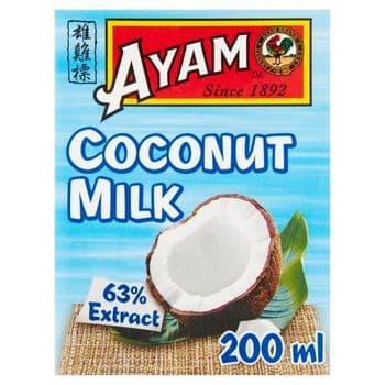 Ayam Premium Coconut Milk 200Ml