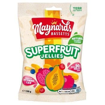 Bassetts Superfruit Jellies 130G