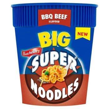 Batchelors Big Super Noodles Bbq Beef Flavoured 100G