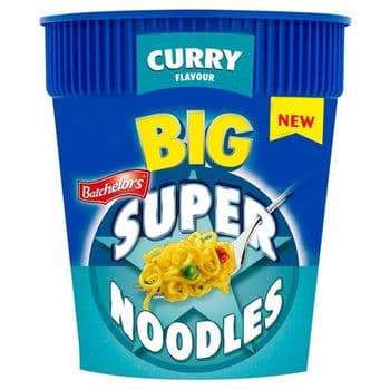 Batchelors Big Super Noodles Curry Flavoured 100G