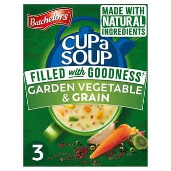 Batchelors Cup A Soup Full Of Goodness 3 Pack Garden Vegetable 64G