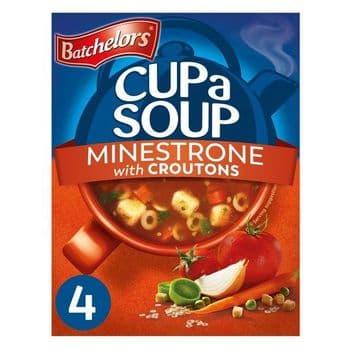 Batchelors Cup A Soup Minestrone 4 Pack 94G