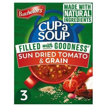 Batchelors Cup A Soup Sun Dried Tomato & Grain 3 Pack 79G
