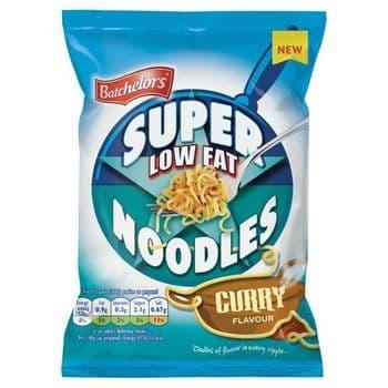 Batchelors Curry Low Fat Super Noodles 81G