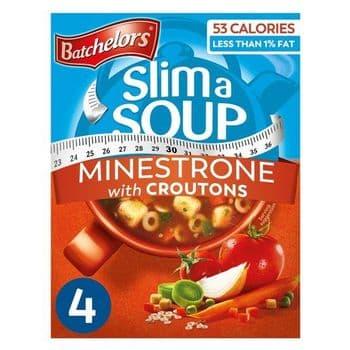 Batchelors Slim-A-Soup Minestrone 4S 61G