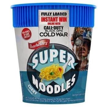 Batchelors Super Noodle Pot Curry 75G