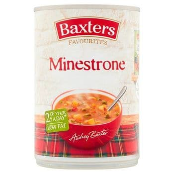 Baxters Favourite Minestrone Soup 400G