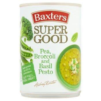 Baxters Pea Broccoli & Basil Pesto Soup 400G