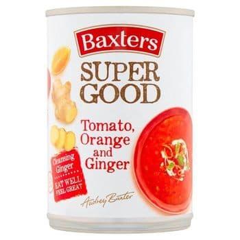 Baxters Tomato Orange & Ginger Soup 400G