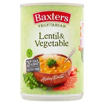 Baxters Vegetable Lentil & Vegetable 400G